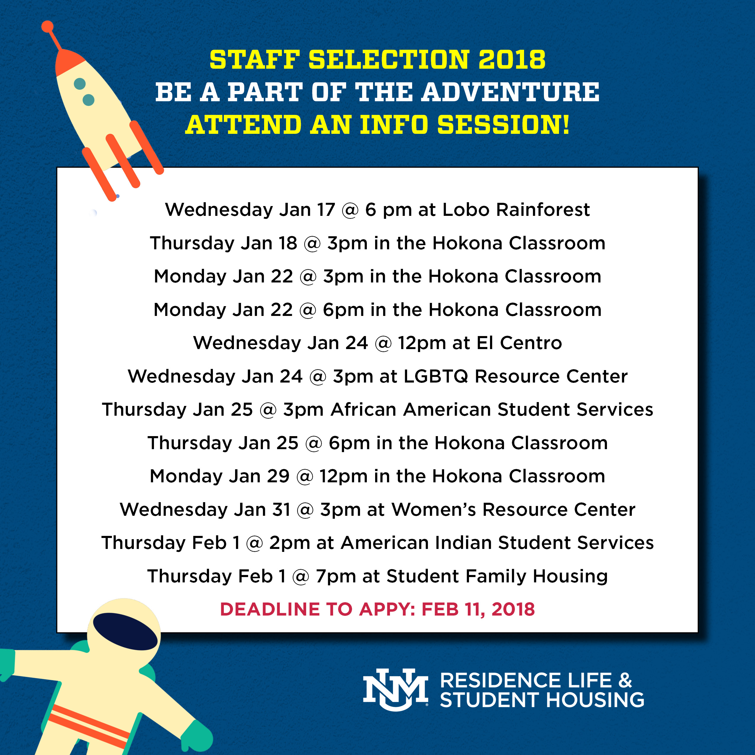 Student Positions :: Residence Life & Student Housing | The ...